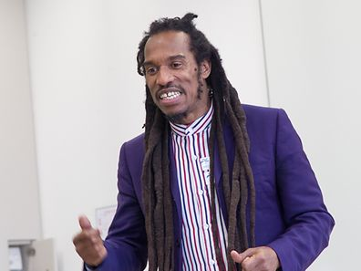 Critically-acclaimed poet, Benjamin Zephaniah, brought his poetry to life in sessions with children at the European School, Lux II, in Mamer.