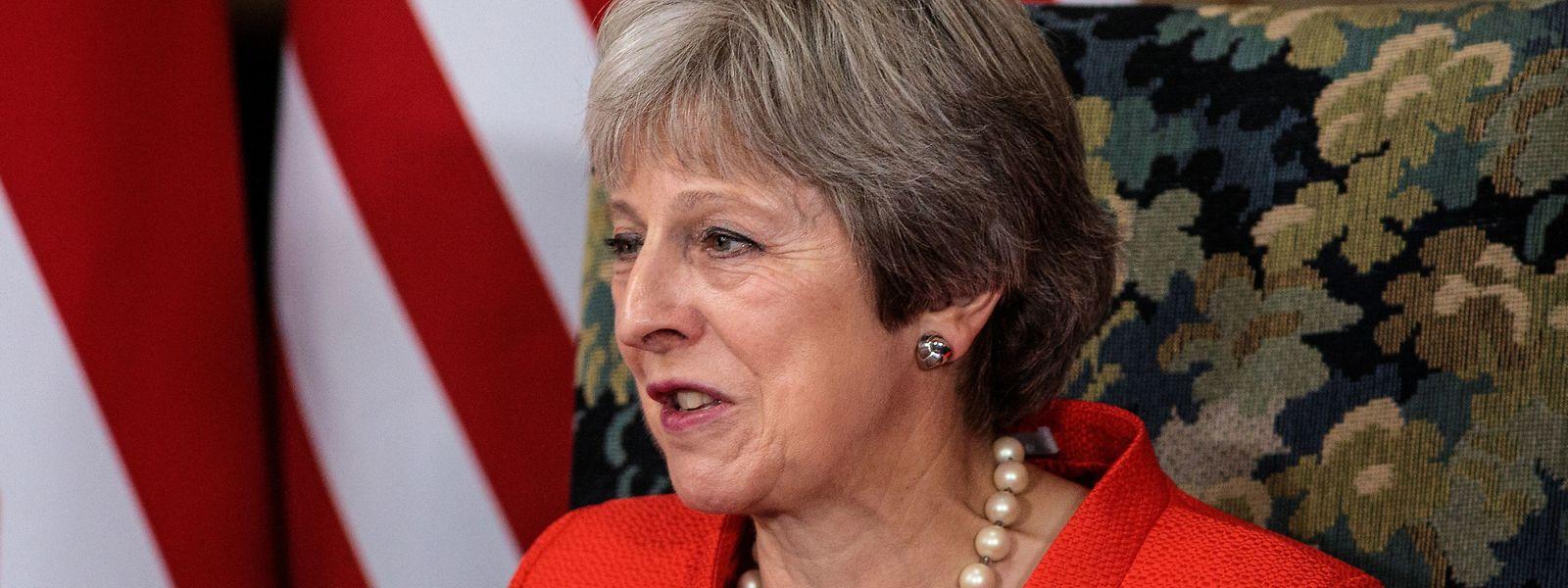 """Die Vorsitzende der konservativen Tories, Theresa May, hat einen Gastbeitrag für die """"Mail on Sunday"""" verfasst.."""