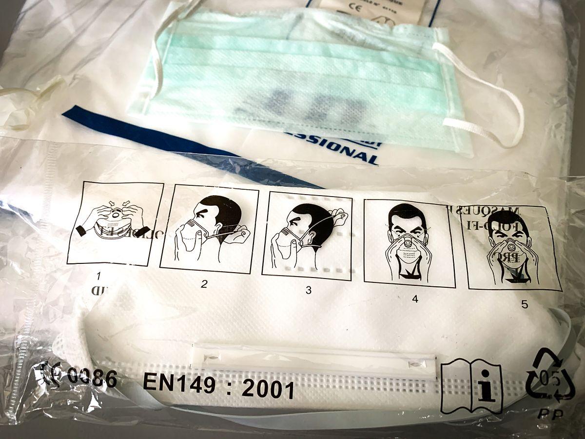 In Luxemburg sind Schutzmasken zum Teil ausverkauft.