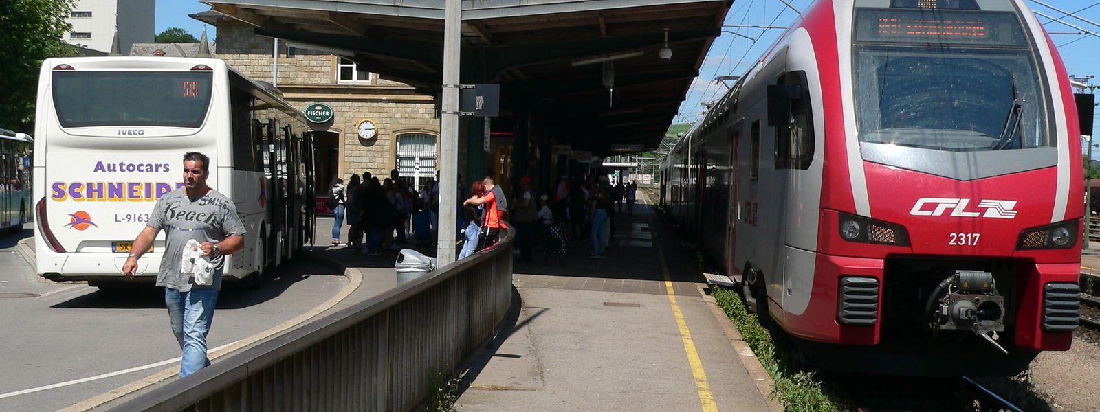 Der Umbau des Ettelbrücker Bahnhofviertels wird teurer als geplant.