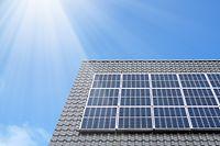 Erneuerbare Energie Fotovoltaik Solar Haus