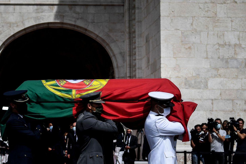 Cerimónias fúnebres do antigo Presidente da República, Jorge Sampaio.