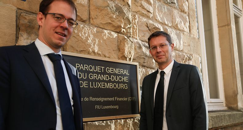 Online.fr, CRF, cellule de Renseignement Financier, Patrick Konsbruck et Max Braun Foto: Anouk Antony/Luxembugrer Wort