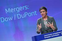 EU-Kommissarin Margrethe Vestager will den Wettbewerb bei den Pestizidherstellern erhalten.