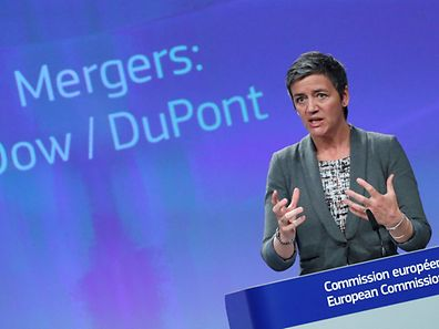 European Competition Commissioner, Margrethe Vestager