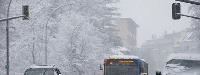 Une fine couche de neige est attendue ce mardi après-midi après 16 heures au Luxembourg.