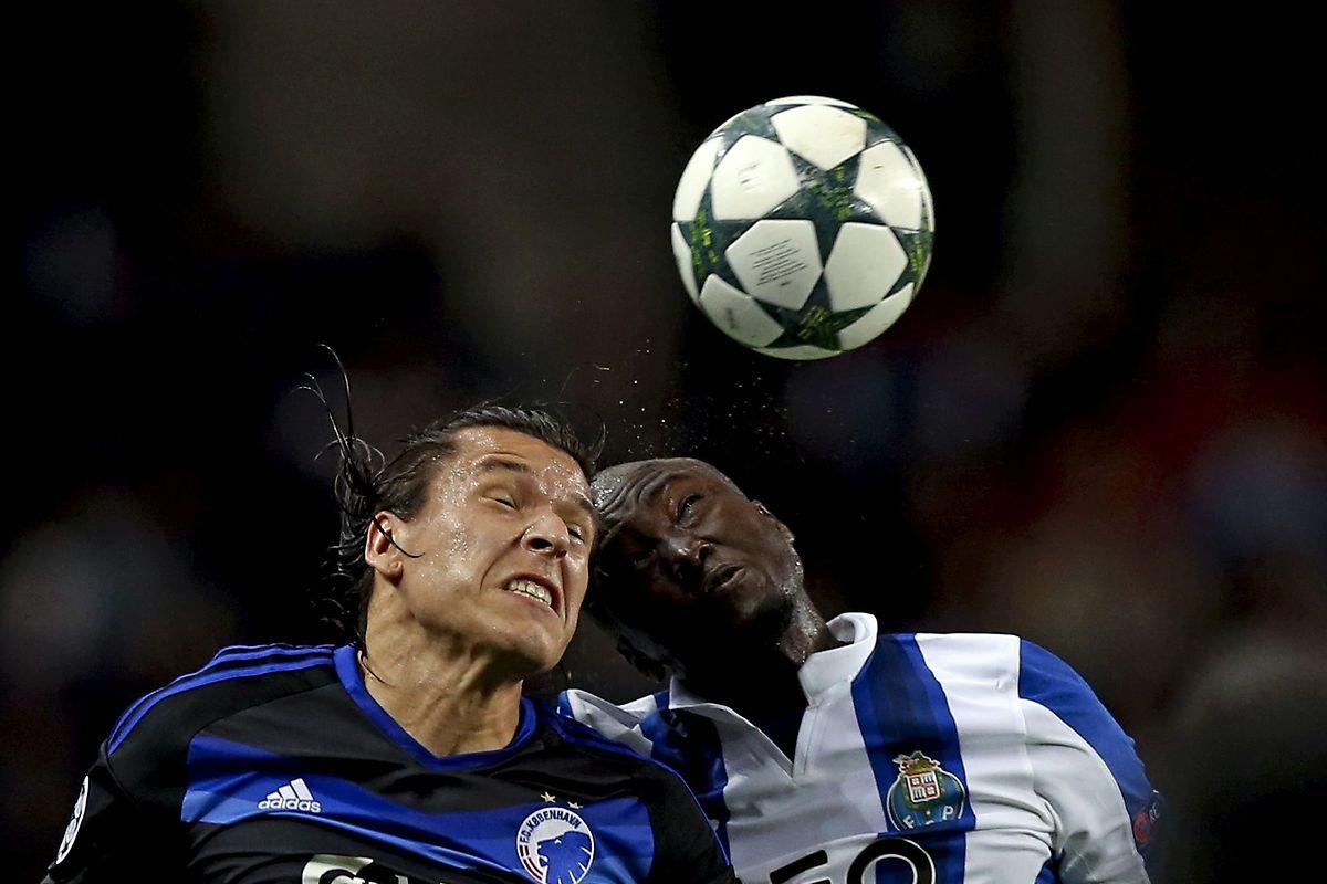 'Dragões' ficaram-se por um empate frente ao Copenhaga