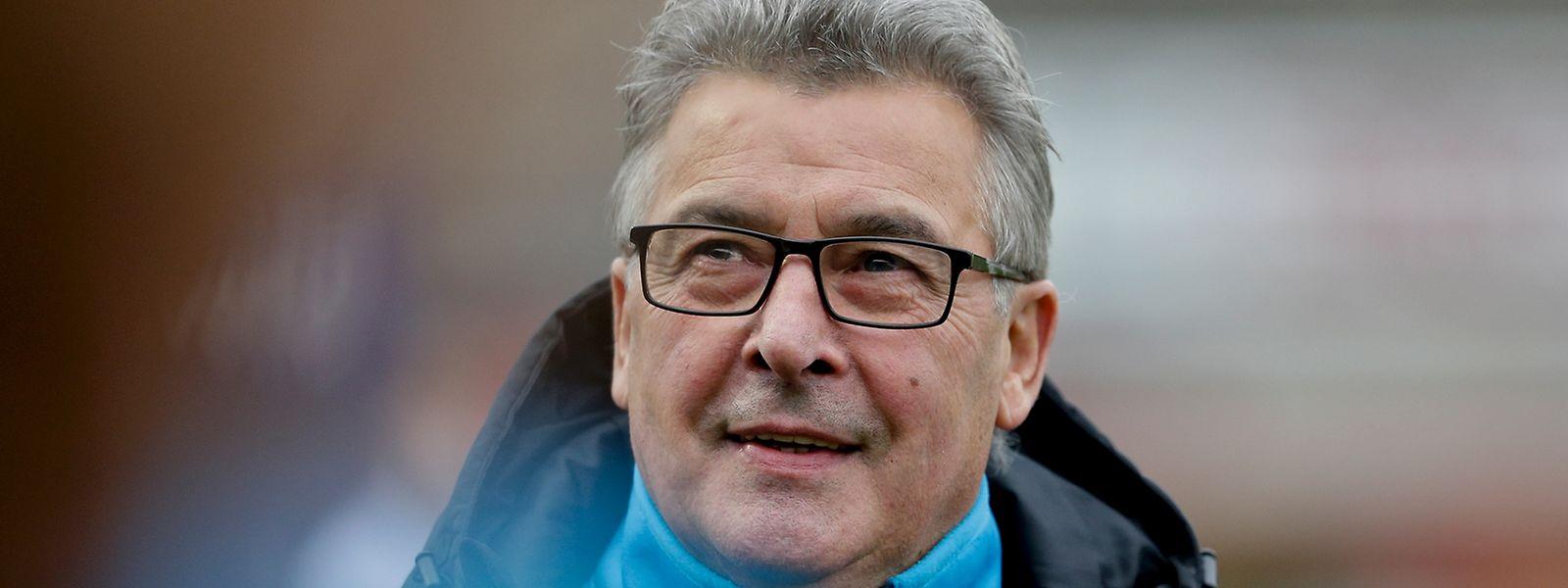 Michel Leflochmoan hat gut lachen: Der Meistertitel für F91 ist zum Greifen nah.