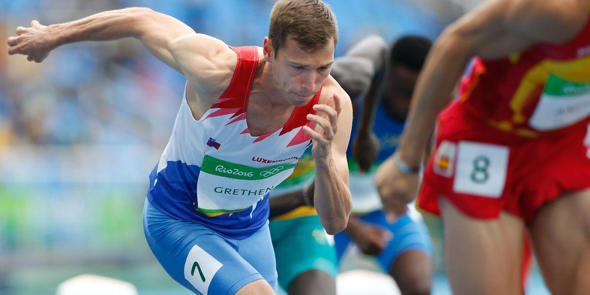 Charel Grethen belegte Platz 38 von 54.