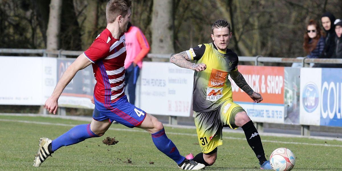 Sébastien Thill et le Progrès ont fait jeu égal avec le Fola, mais les supporters niederkornois attendent une victoire à domicile.