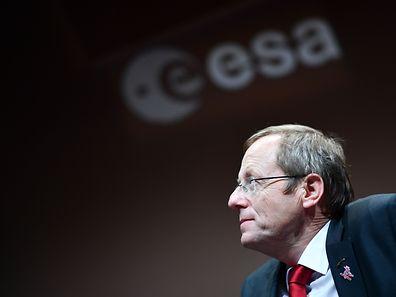Wo ist das Marsmodul? ESA-Chef Jan Woerner kennt zurzeit auch nur die ungefähre Richtung.