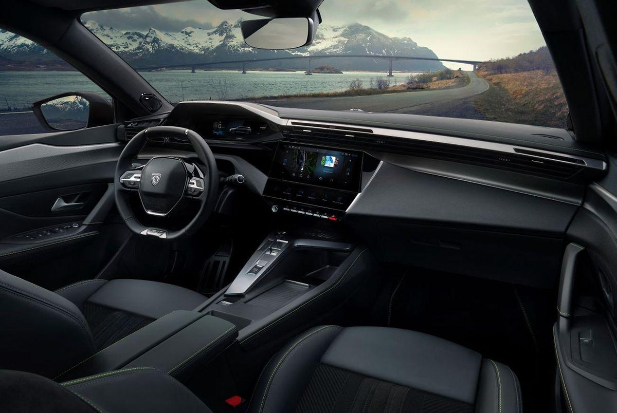 Puriste: le fameux «i-cockpit» cher à Peugeot.