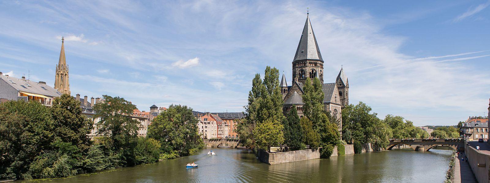 La Moselle et le plan d'eau de Metz pourront servir pour peaufiner les performances des sportifs engagés dans les épreuves 2024 d'aviron.