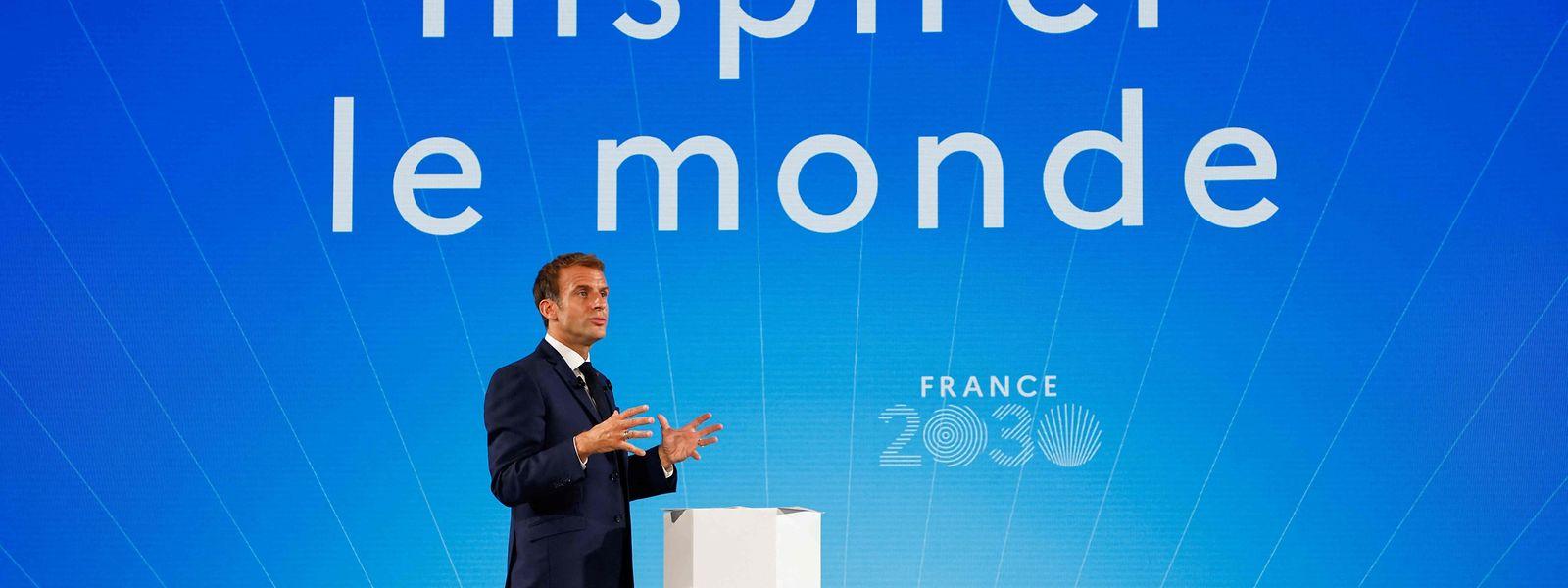 Für Frankreichs Präsident Emmanuel Macron ist die Atomenergie eine Zukunftstechnologie.