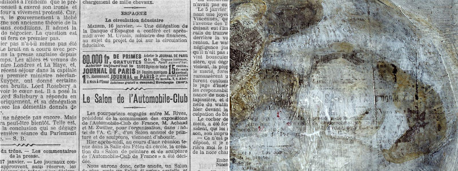 """Wissenschaftler der National Gallery of Art in Washington untersuchten das Gemälde """"Mutter und Kind am Strand"""" (1902) von Pablo Picasso  im Pola Museum of Art in Hakone, Japan."""