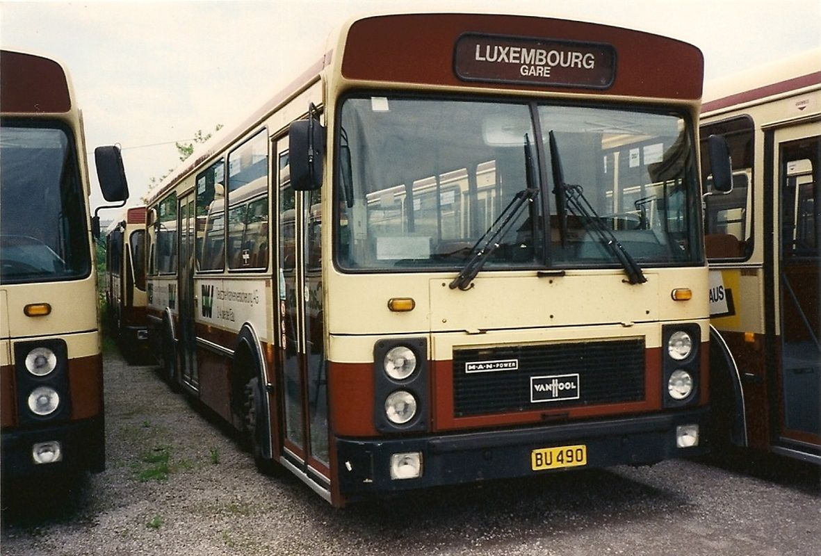 Bus Modell Vanhool 120/40