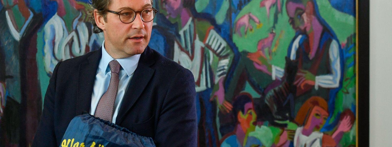 Der deutsche Verkehrsminister Andreas Scheuer steht wegen der Kosten aufgrund der gescheiterten Mautpläne in der Kritik.