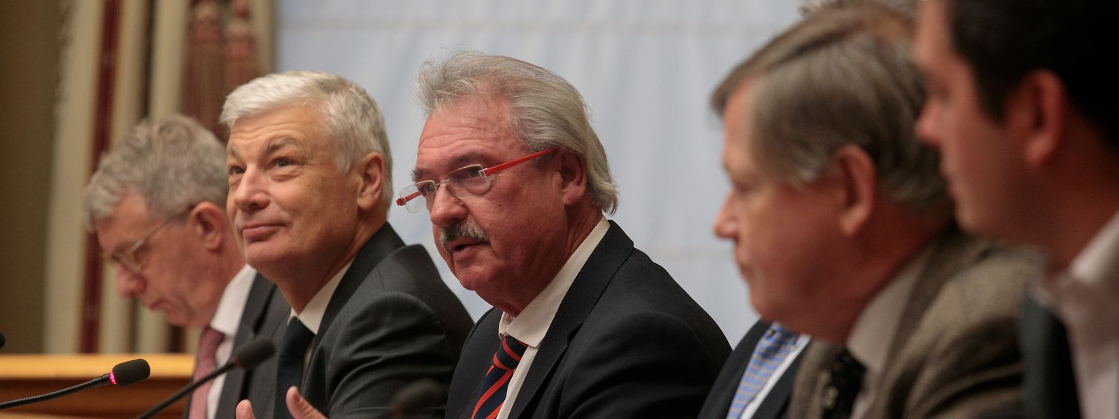 Hearing-Session zum Brexit-Abkommen in der Chamber.