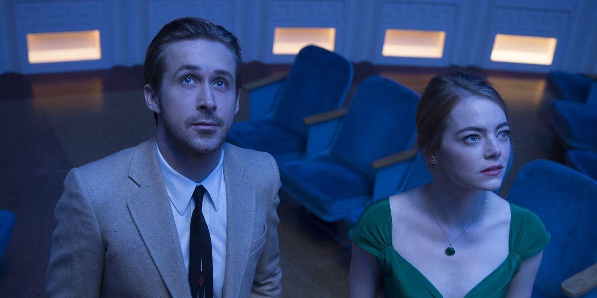 """Die nostalgische Musical-Romanze """"La La Land"""" mit Ryan Gosling und Emma Stone als verliebtes Paar in Los Angeles ist mit sieben Nominierungen der Favorit."""