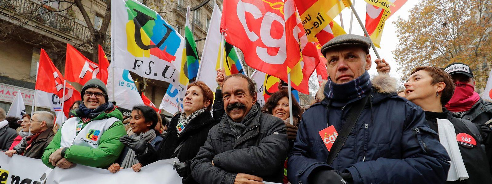 Selon la CGT, 250.000 personnes ont protesté ce jeudi dans les rues de Paris.