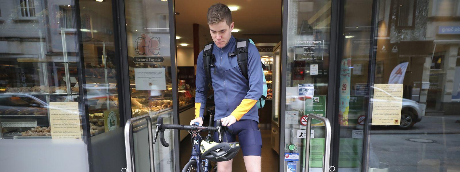 Der 25-jährige Sébastien Cayotte aus Esch hat bereits mehrmals mit Solidaritätsaktionen auf sich aufmerksam gemacht.