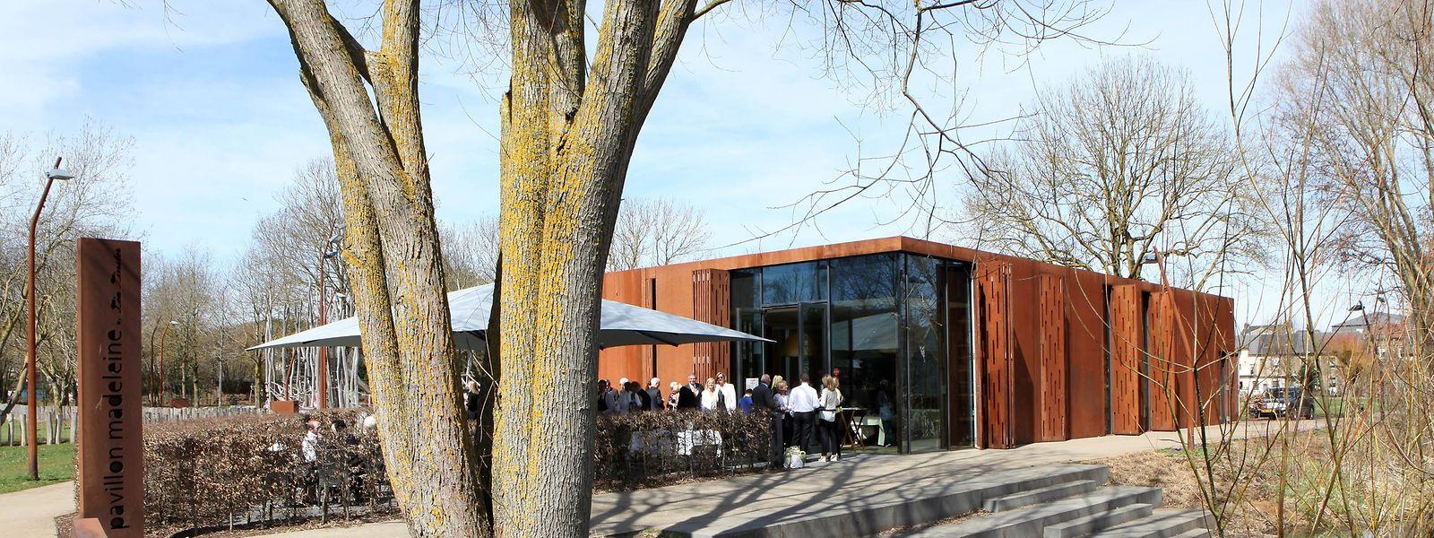 Der Pavillon im Kayler Park dürfte auch den Namen ändern.