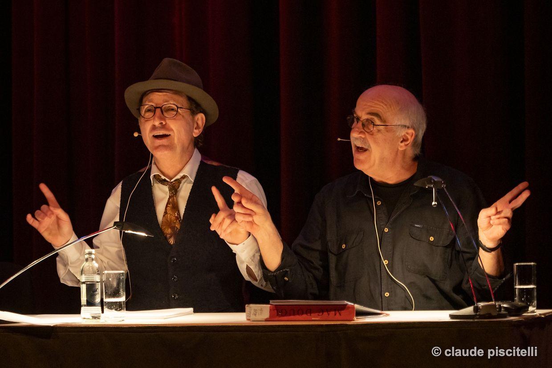 """ Märd Alors! "" mam Jules Arpetti a Jhemp Hoscheit - Artikuss - Soleuvre - Artikuss - 12/02/2019 - photo: claude piscitelli"