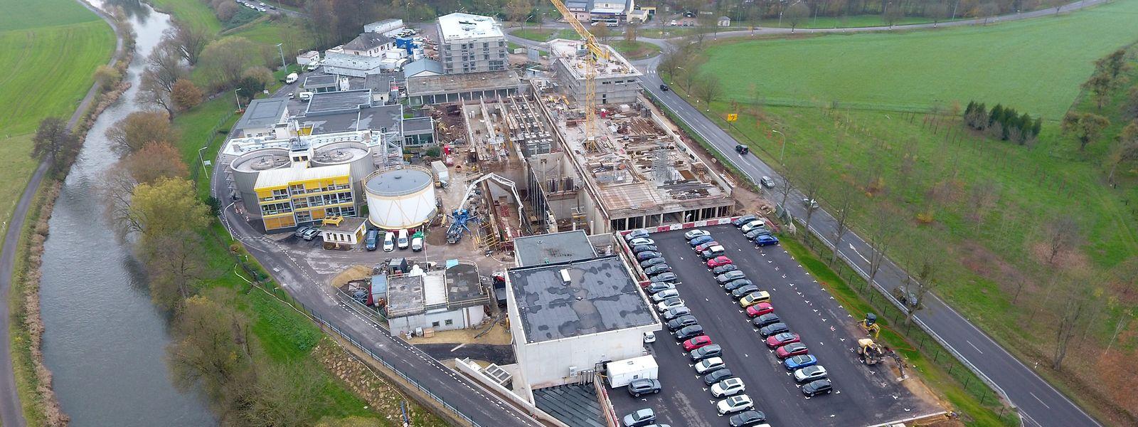 Dank hoher Investitionen sind die Kläranlagen in Luxemburg wieder konform.