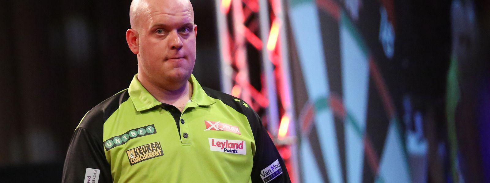 Michael van Gerwen ist Weltranglistenerster.