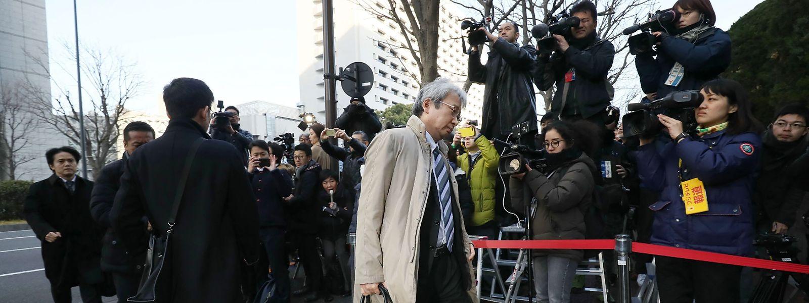 Motonari Otsuru, ancien procureur assurant la défense de Carlos Ghosn «a soumis une lettre de démission au tribunal».
