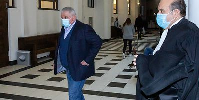 Flavio Becca at Luxembourg court in February this year