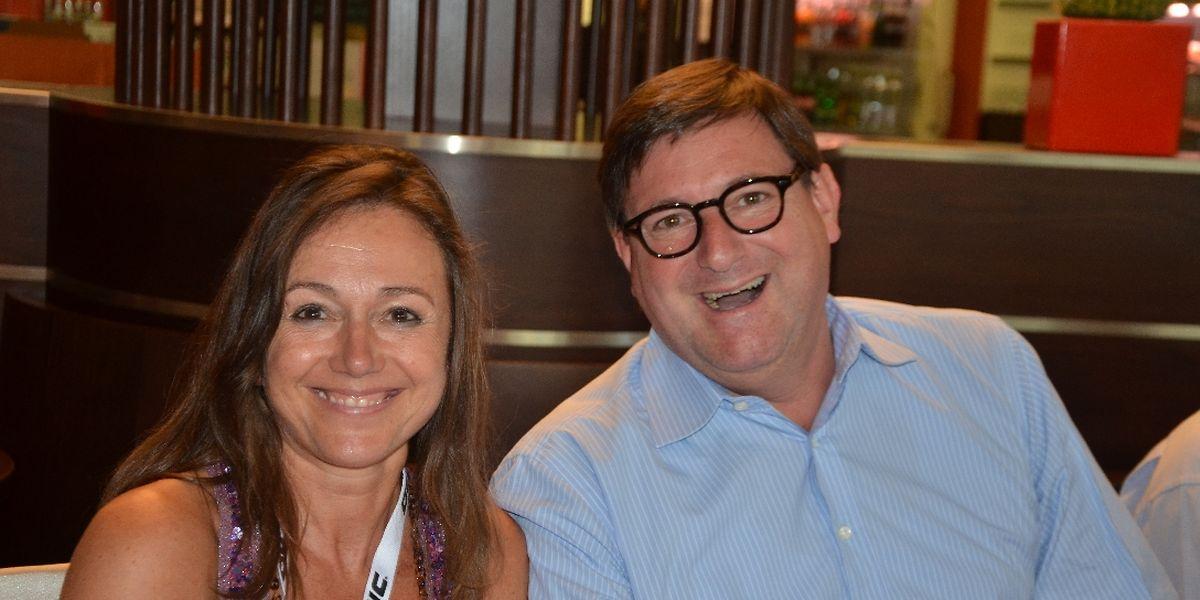 Carine Risch et Yves Maas, un duo qui a aligné les titres nationaux.