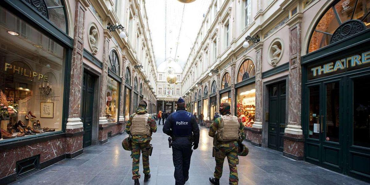 Belgien bleibt in erhöhter Alarmbereitschaft.