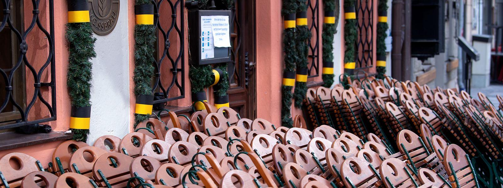 Die Gastronomen in Deutschland warten auf eine klare Öffnungsperspektive.