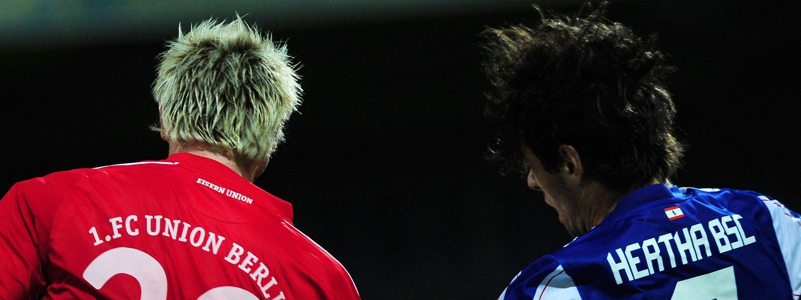 Après une première rencontre historique en 1990, l'Union et le Hertha Berlin se sont affrontés quatre fois, en deuxième division en 2010-2011 et 2012-2013