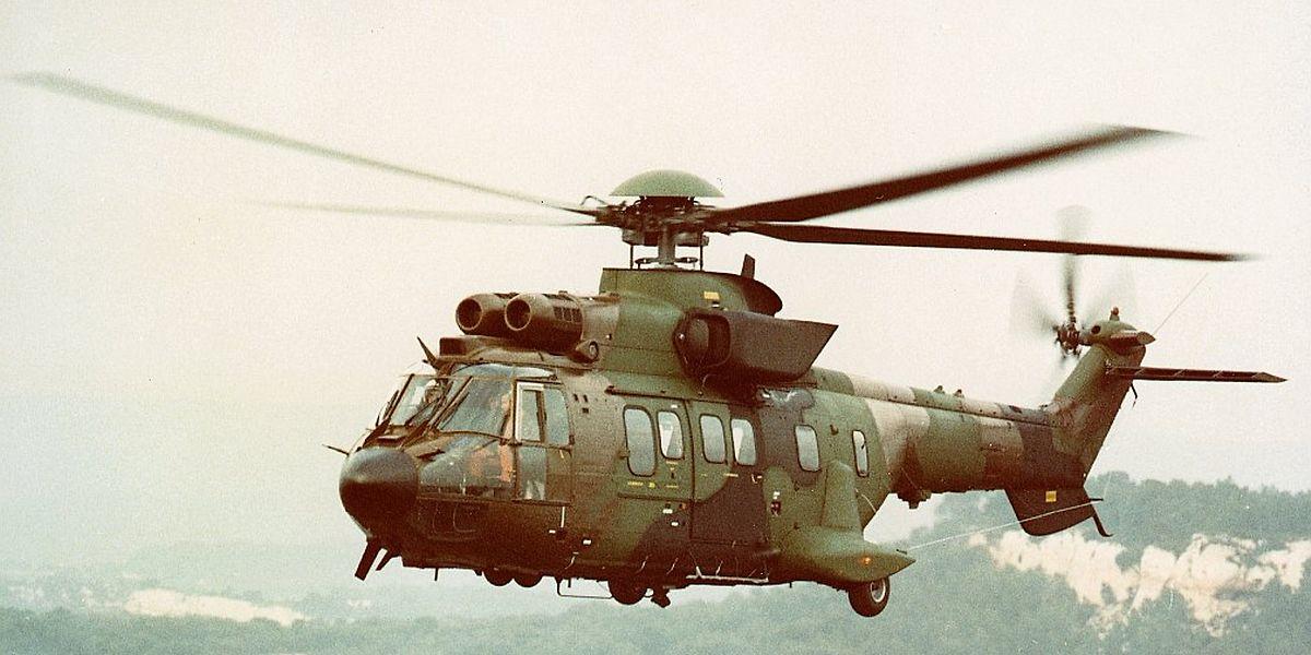 Alle Airbus-Helikopter vom Typ Super-Puma haben in der Schweiz aktuell Flugverbot.