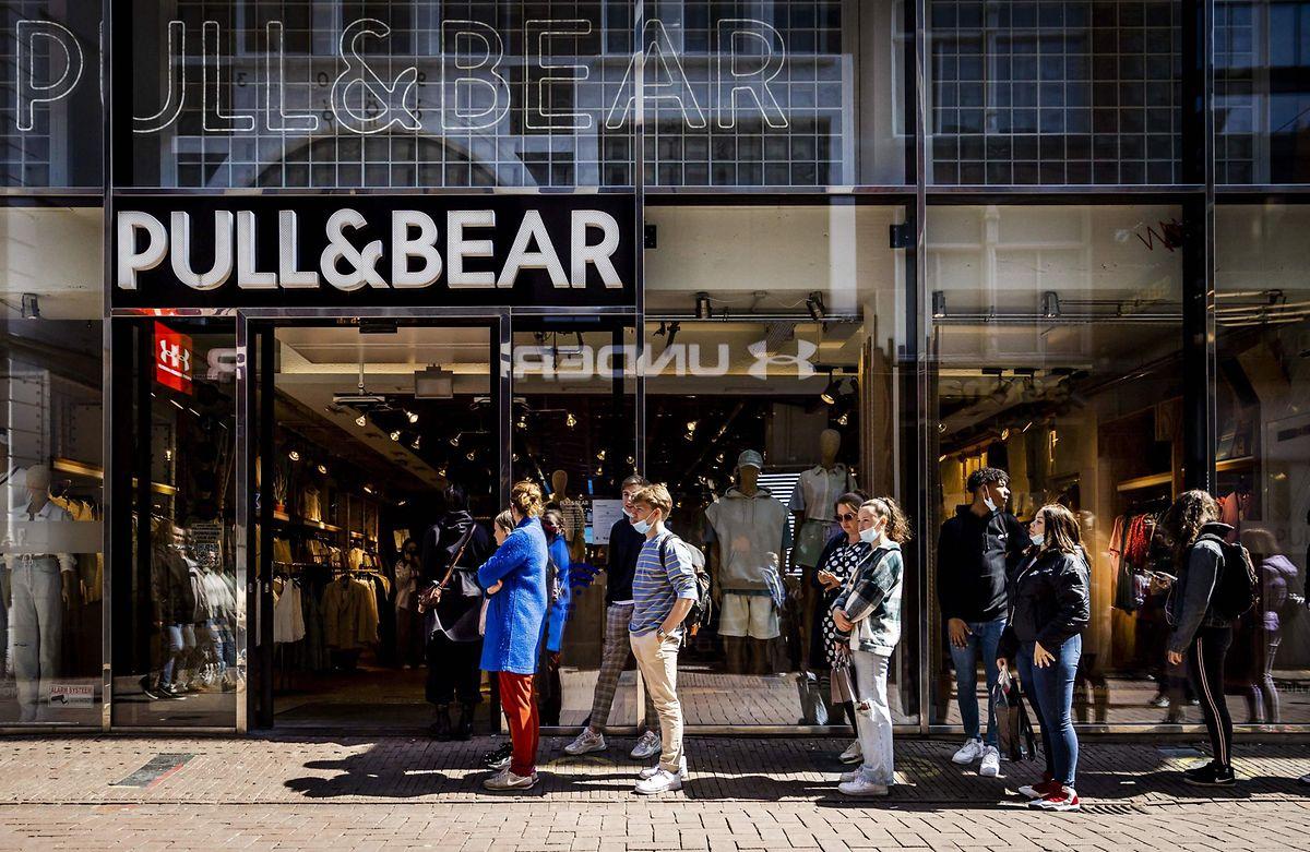 Ein Shopping-Fieber ist in den Niederlanden ausgebrochen.