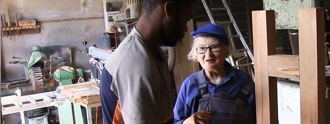 Schwester Joseph ist mittlerweile 18 Mal nach Haiti gereist.