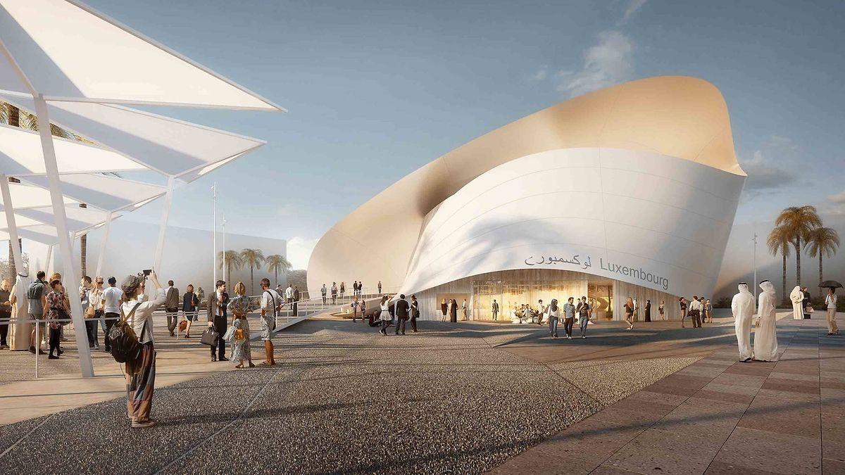 Le pavillon luxembourgeois devrait coûter près de 32 millions d'euros.