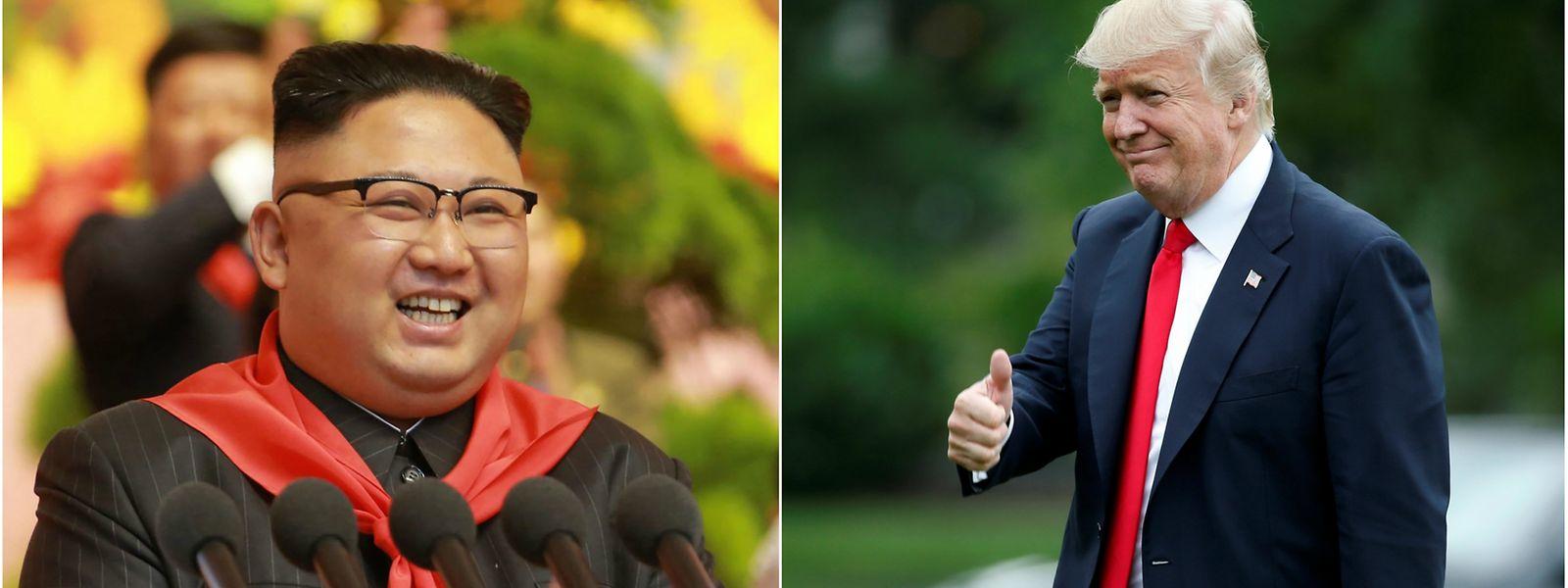 A cimeira entre Trump e Kim será a primeira da história entre líderes dos Estados Unidos e da Coreia do Norte