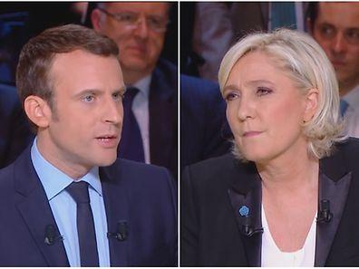 Deux visions de l'avenir de la France radicalement opposées se feront face au second tour
