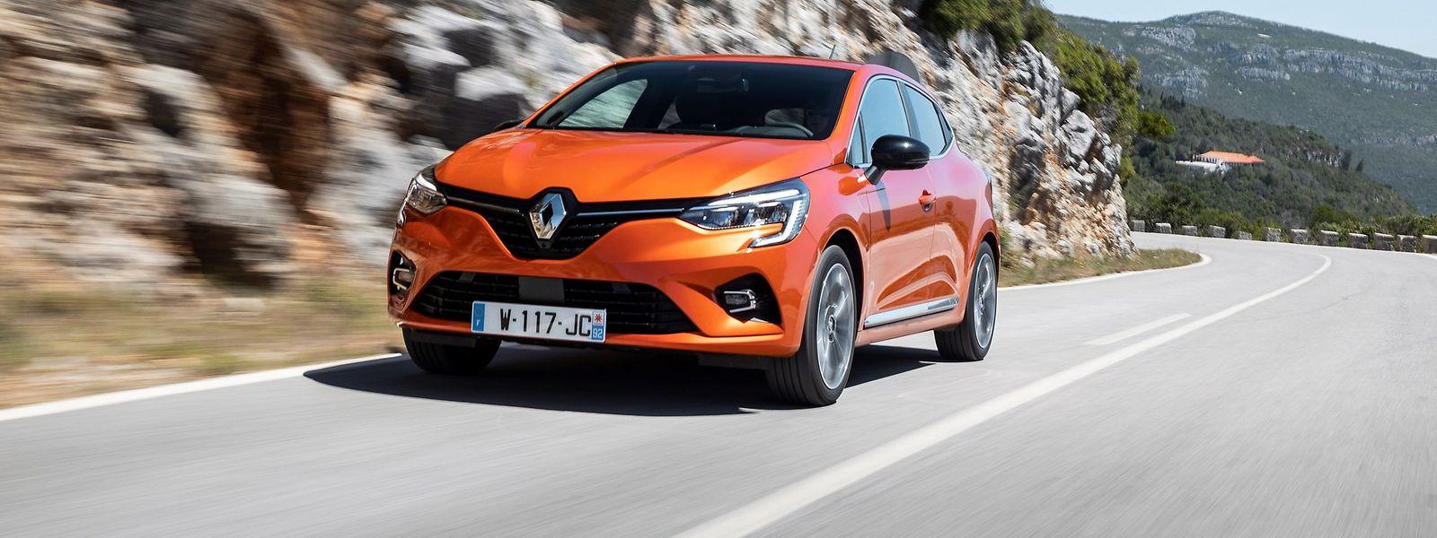 Der Renault Clio bleibt auch in fünfter Generation ein unverwechselbares Gesicht in der Menge.