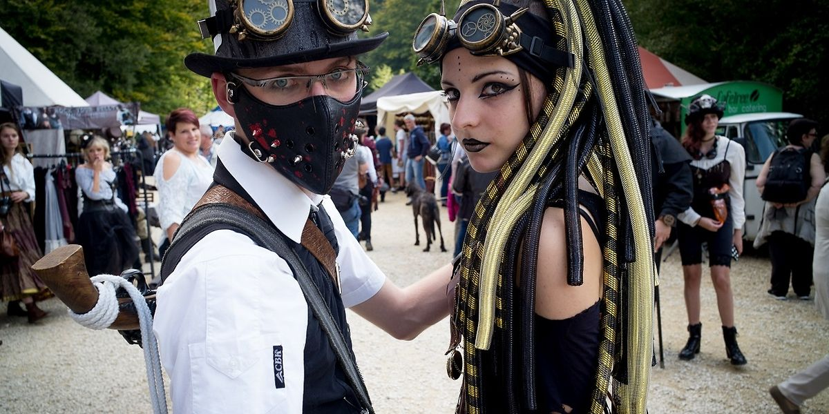Anno 1900 Steampunk Convention Luxembourg Fond de Gras Luxembourg le 23.09.2017 ©Christophe Olinger