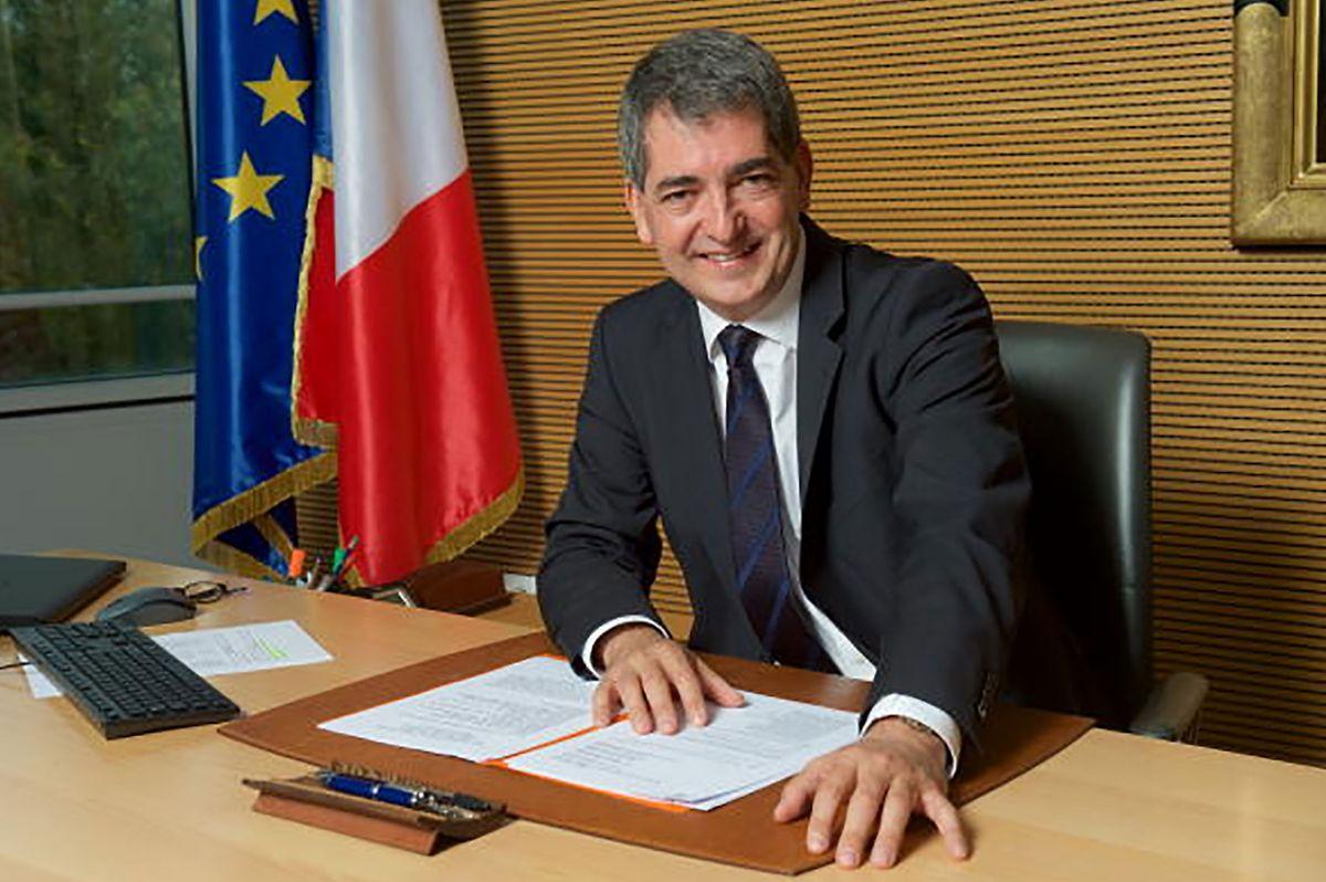 Jean Rottner, Präsident der Region Grand Est