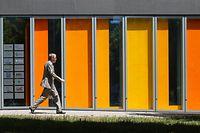 Bankenplatz Luxemburg. Kirchberg. ABBL. House of Finance. Photo Guy Wolff