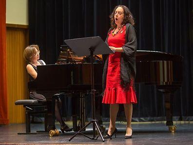 Filomena Domingues vai ser acompanhada ao piano por Carolina Valbuena