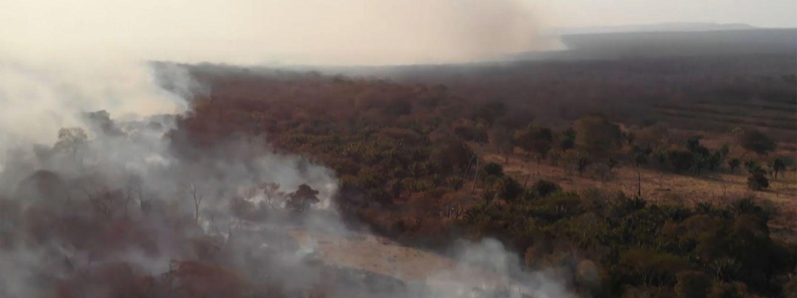 L'Institut national de recherche spatiale (INPE) a fait état de près de 2.500 nouveaux départs de feu en l'espace de 48 heures dans l'ensemble du Brésil.