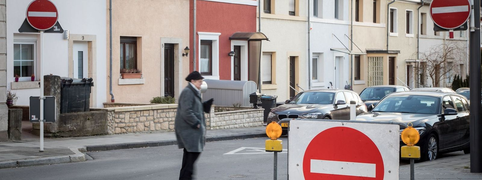 Für so manchen ist die neue Straßenführung in Gasperich zu einem Labyrinth geworden.