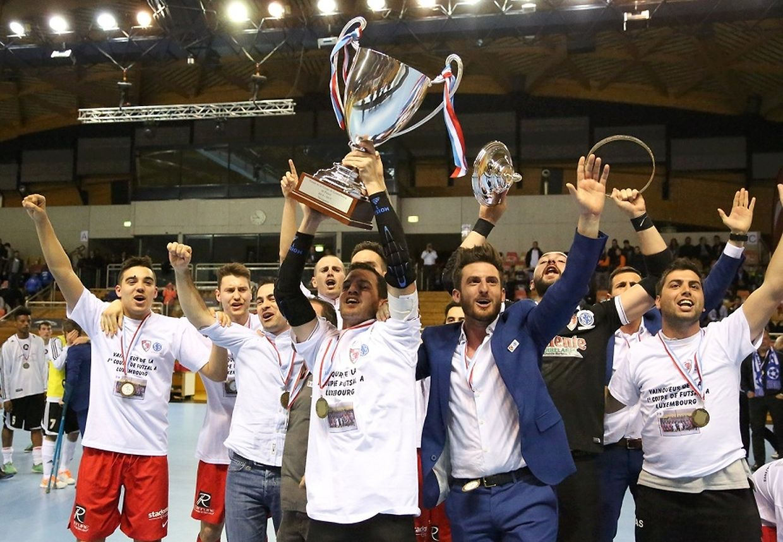 A primeira Taça do Luxemburgo de futsal foi conquistada pelo SC Bettembourg