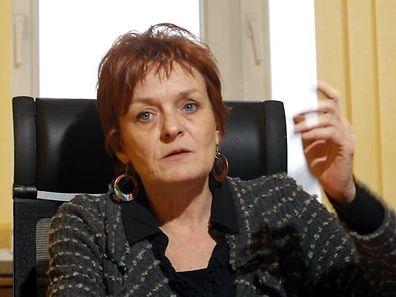22.1.Esch / Interview Vera Spautz , Buergermeisterin Foto: Guy Jallay